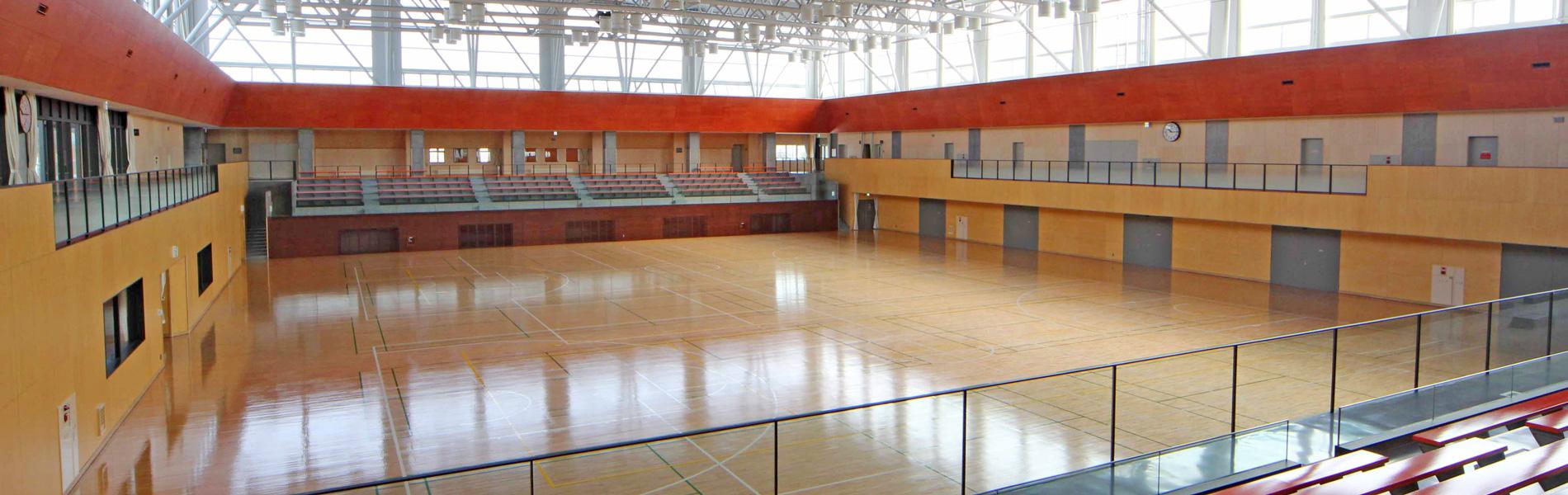 体育館メインアリーナ
